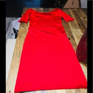 NWT Red Ralph Lauren Fitted Mini Dress Orig$499